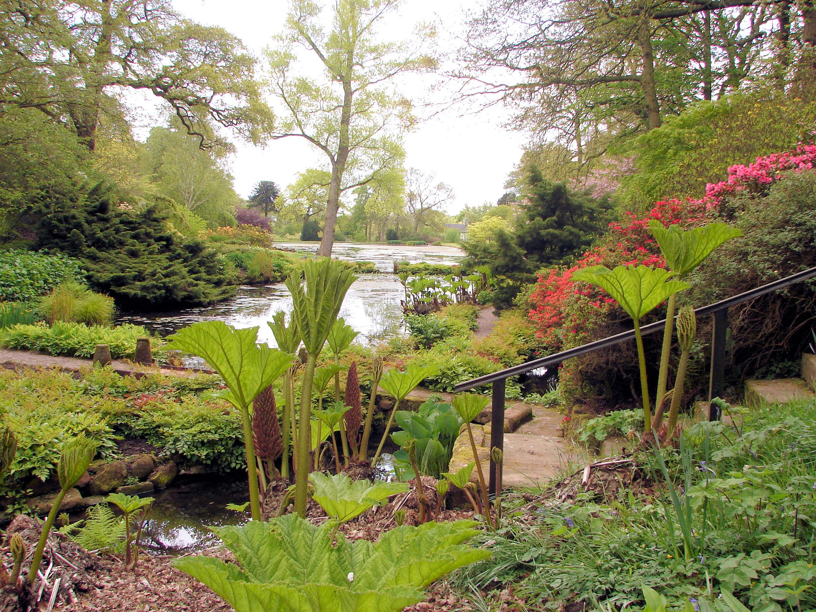 Hodnet North Shropshire Hodnet Hall Gardens