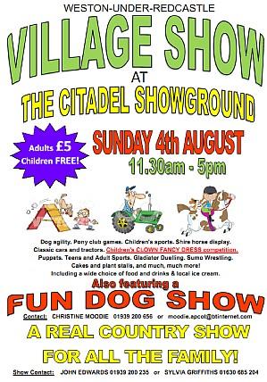 Weston Show Leaflet 2013