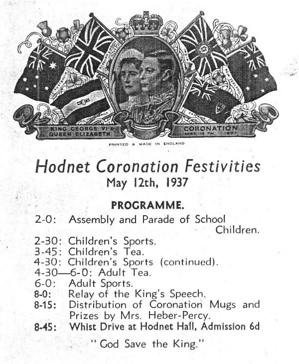 Coronation 1937 Cover