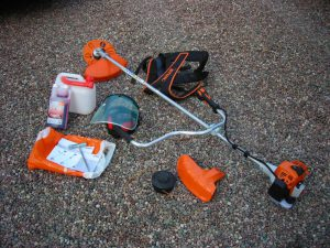 HODNET FOOTPATH GROUP'S NEW [2016] STRIMMER/BUSHCUTTER KIT