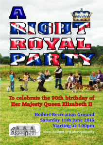 Right Royal Party