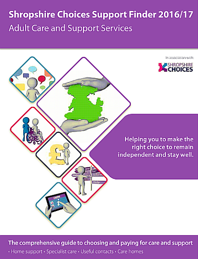 Shropshire Choices Support Finder 2017