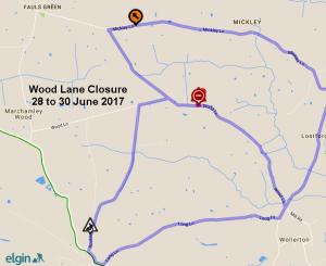 Wood Lane Closure