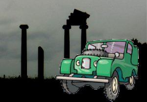 Land Rover in Hodnet