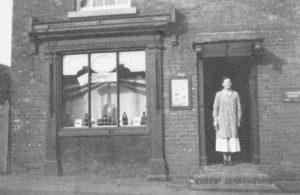 Hodnet's Chemist Shop pre 1940